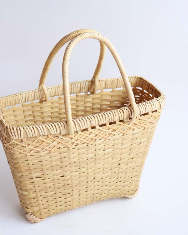 warang wayan(ワランワヤン) バンブー台形バスケット S