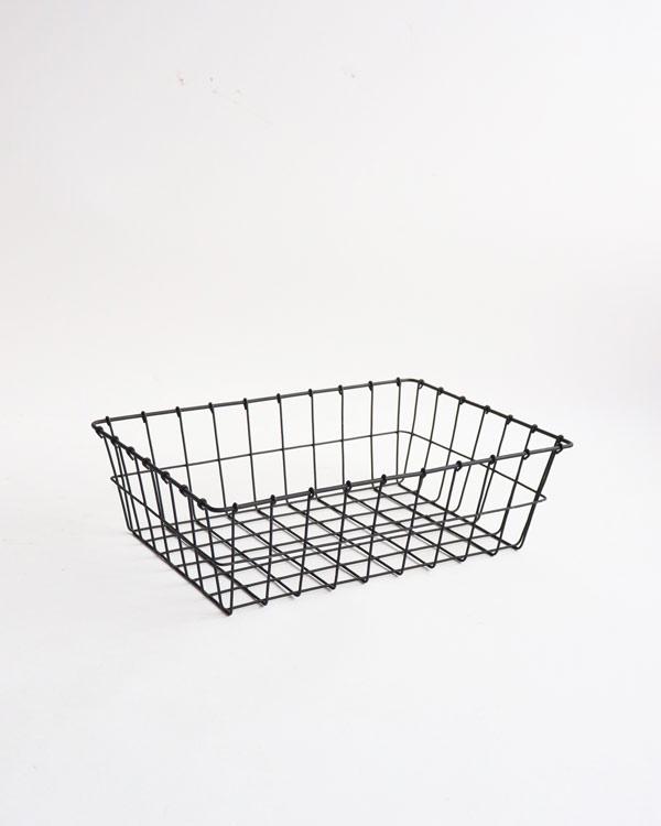 warang wayan(ワランワヤン) キッチンクロスバスケット 浅型