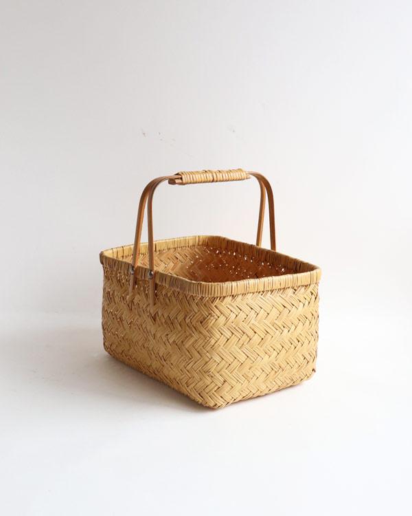 篠竹買い物かご