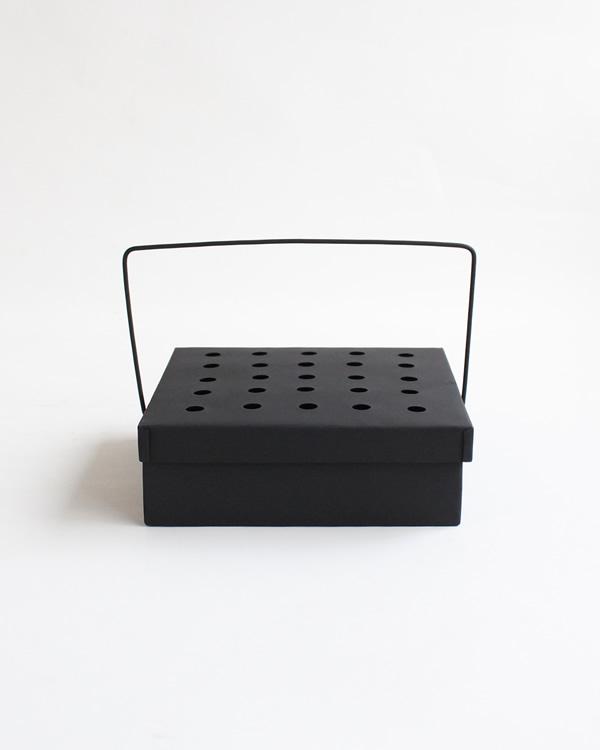 warang wayan(ワランワヤン) 蚊取り線香入れ 四角 ブラック