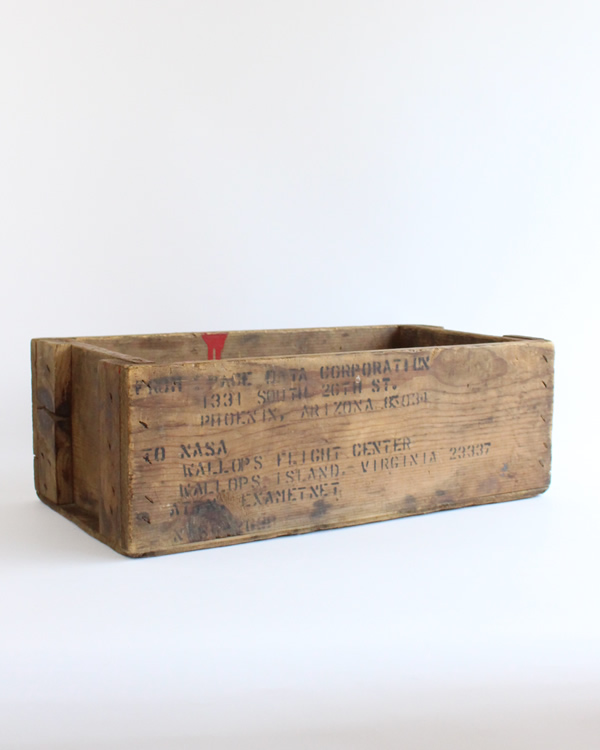 ステンシル ウッドボックス