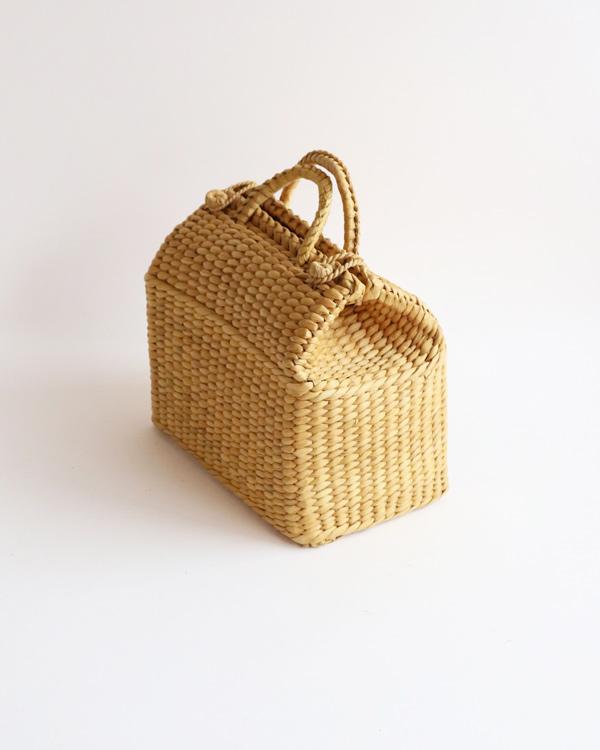 ストロー ハンドバッグ
