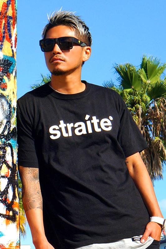 【限定復刻】初期スモールレターネームTシャツ [STRAITE]