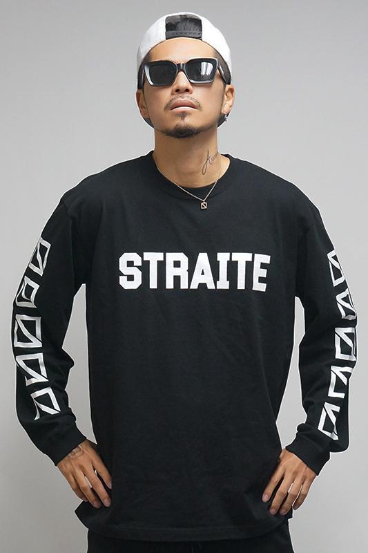 【予約制】フロントネームスクエアロゴロンT [STRAITE]