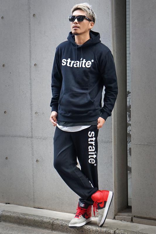【予約制】スモールレターネームスエットセットアップ  [STRAITE]