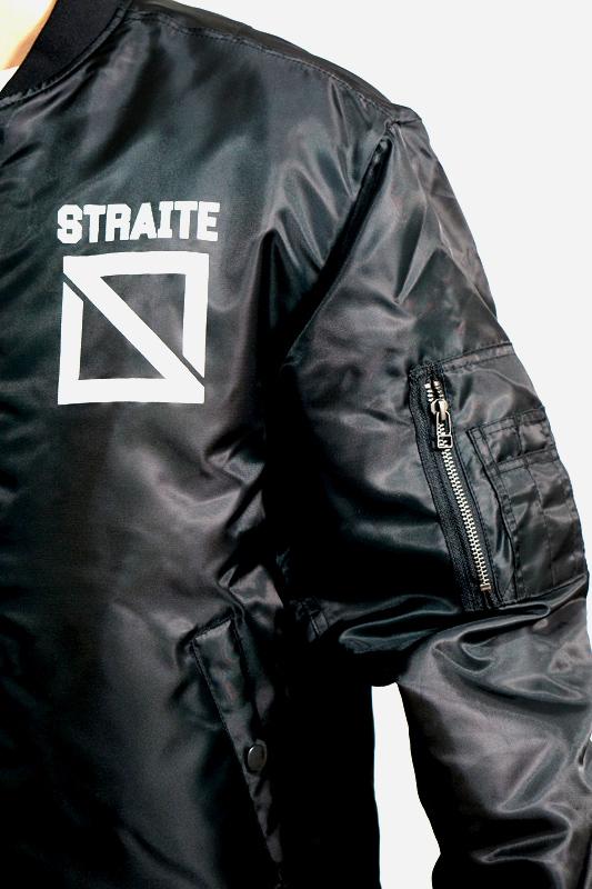 【予約制】限定復刻スクエアロゴMA-1フライトジャケット [STRAITE]