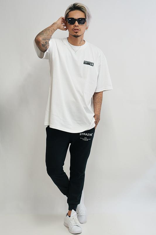 【予約制】ボックステープロゴTシャツ [STRAITE]