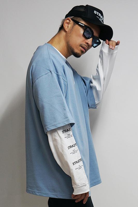 【再入荷予約】ウルトラヘビープレミアムビッグTシャツ [STRAITE]