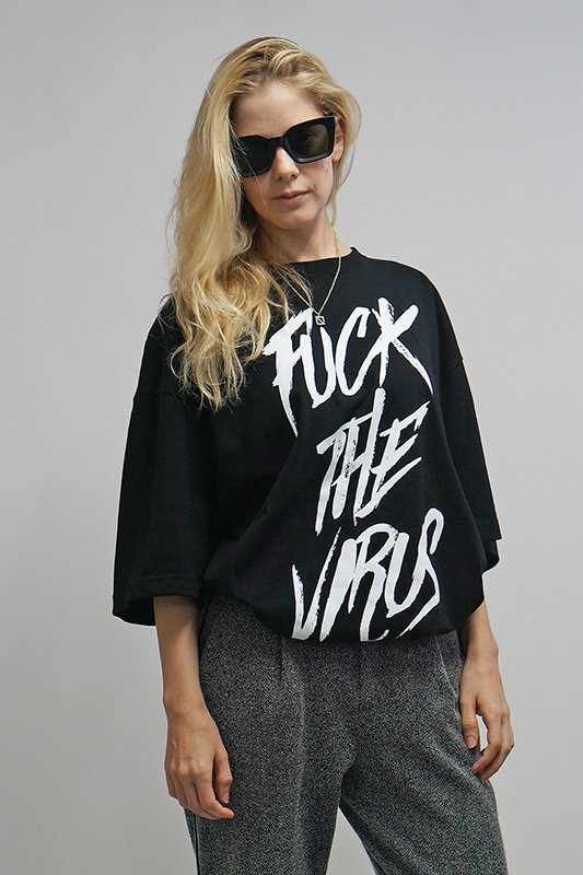 【先行予約商品】FUCK VIRUS Tシャツ [STRAITE]
