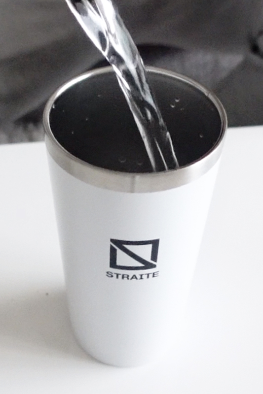 スクエアロゴ真空断熱タンブラー [STRAITE]