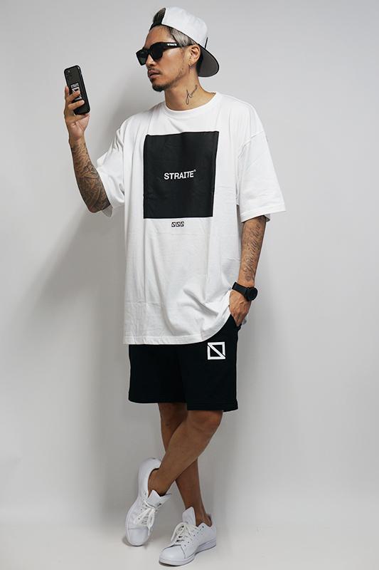 【予約商品】ボックスロゴTシャツ [STRAITE]