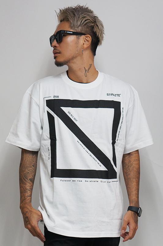 【予約制】ダブルスクエアロゴTシャツ2.0 [STRAITE]