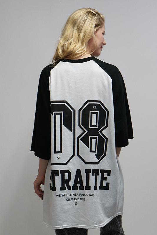【予約商品】ビッグナンバリングラグランTシャツ [STRAITE]