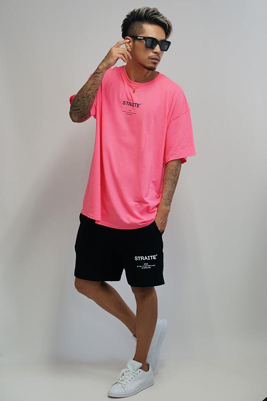 【予約商品】ネオンピンクMake A Way Tシャツ [STRAITE]