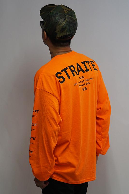 【予約制】ネオンオレンジMakeAWayロンT [STRAITE]