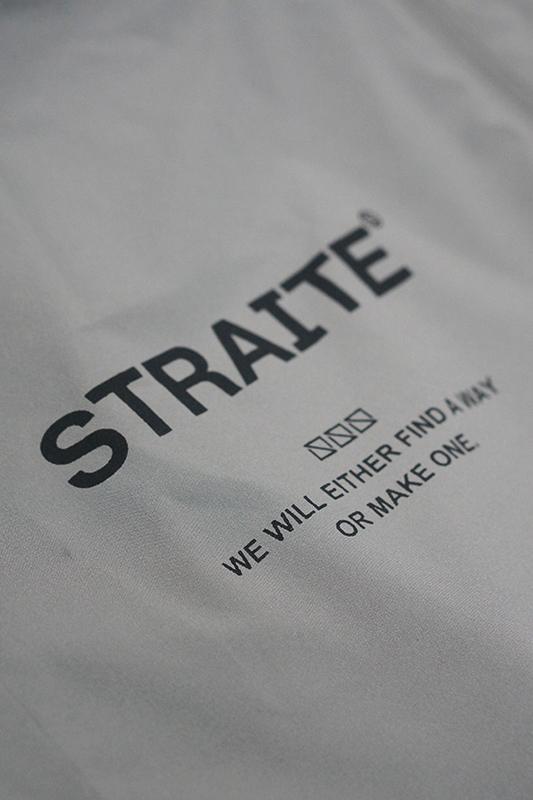 【予約制】吸汗速乾ワッペンストレッチジョガーパンツ [STRAITE]