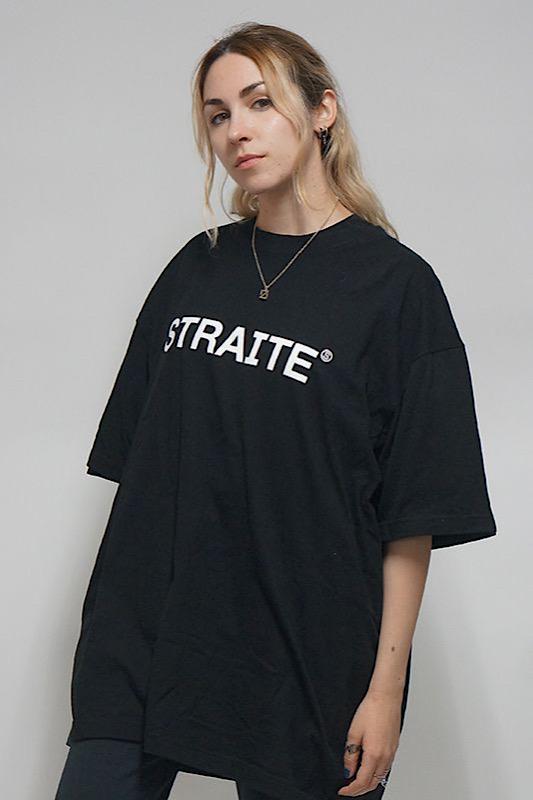 【予約商品】ベーシックロゴTシャツ [STRAITE]