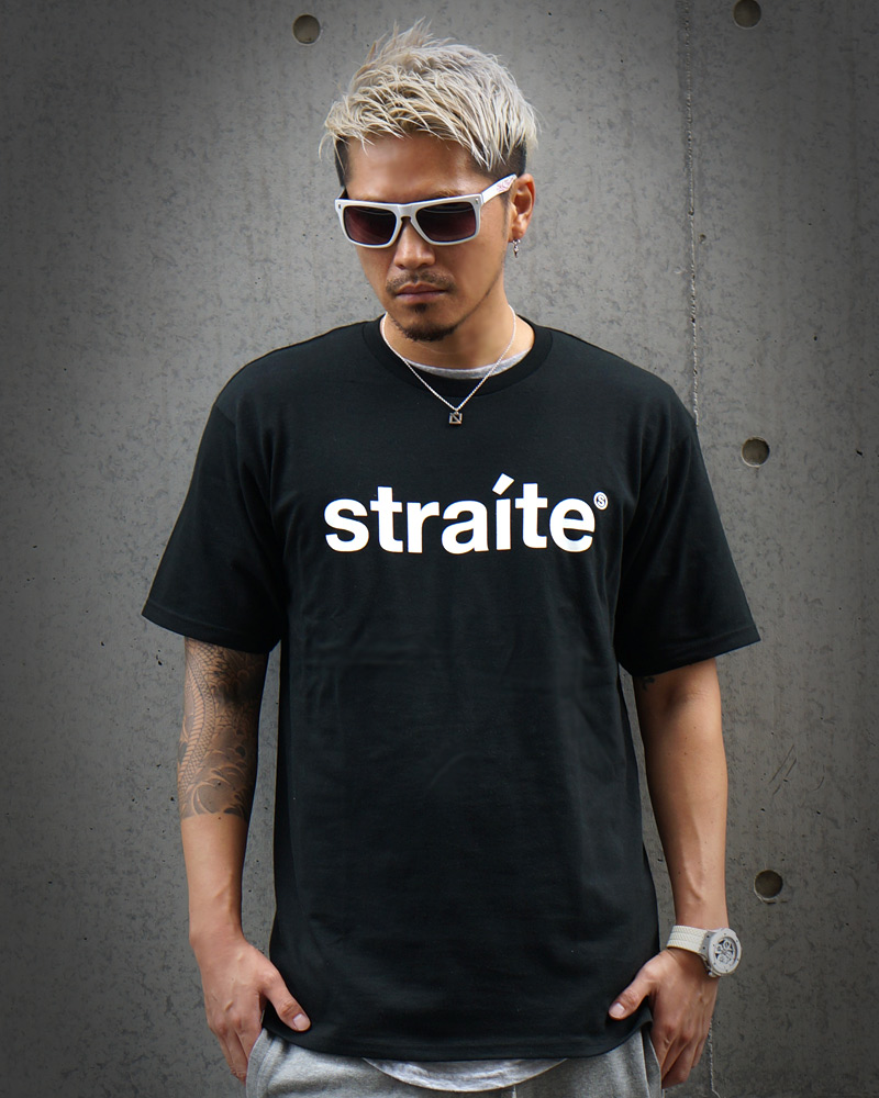 スモールレターネームTシャツ2.0 [STRAITE]