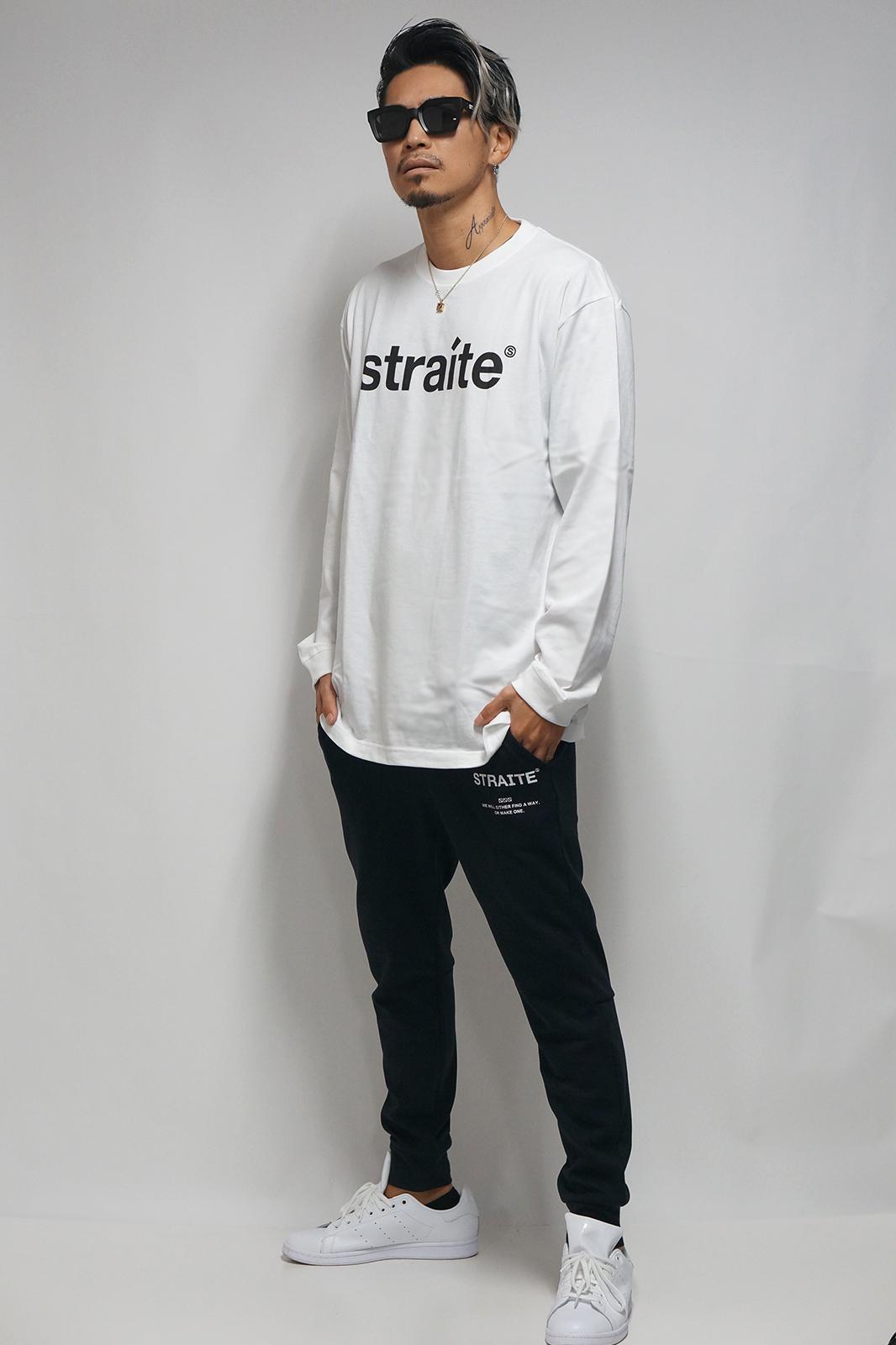 【予約製】スモールレターネームロンT [STRAITE]