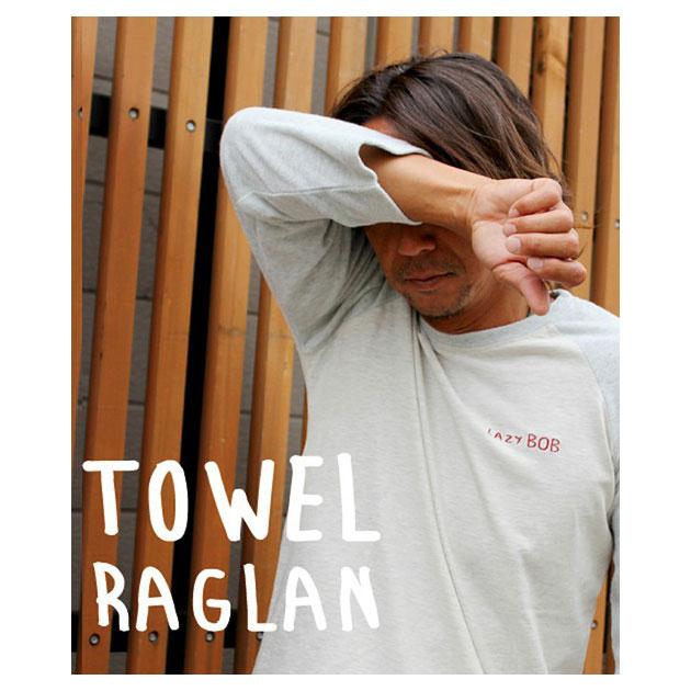 【STO限定品】LAZY BOB TOWEL RAGLAN SHIRT(レイジーボブタオルラグランシャツ)