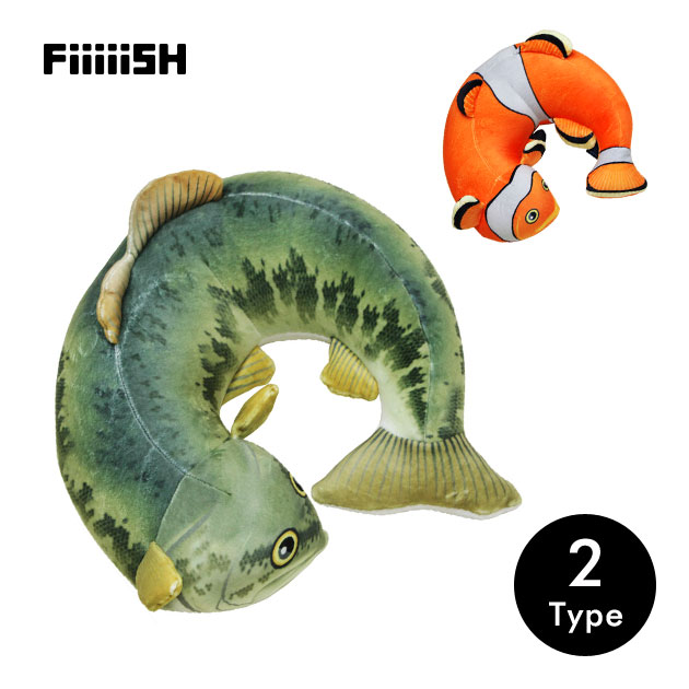 FISH NECK PILLOW(フィッシュネックピロー)
