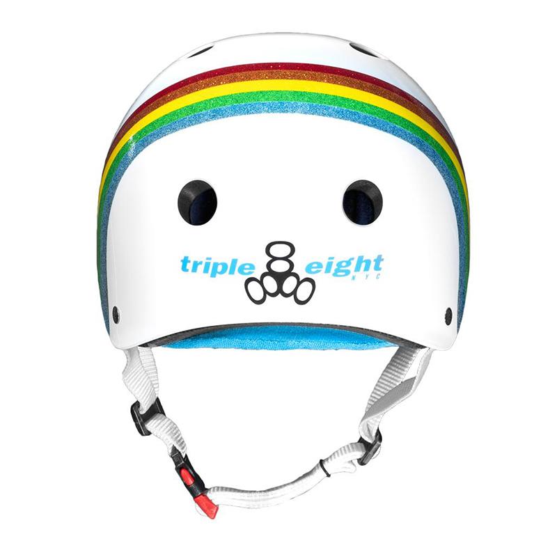 triple eight【サーティファイド:ホワイトグロスレインボー】