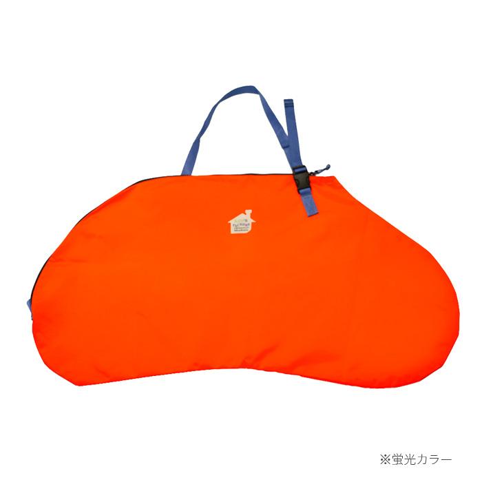 12インチストライダー用キャリーバッグFREDRIK PACKERS【オレンジ×パープル】