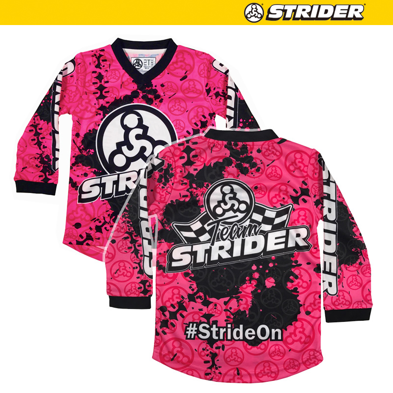 TEAM STRIDERモトクロスジャージ【ピンク】