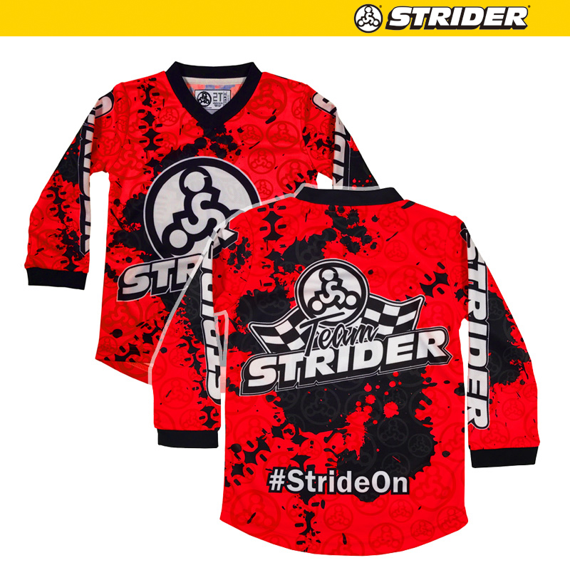 TEAM STRIDERモトクロスジャージ【レッド】