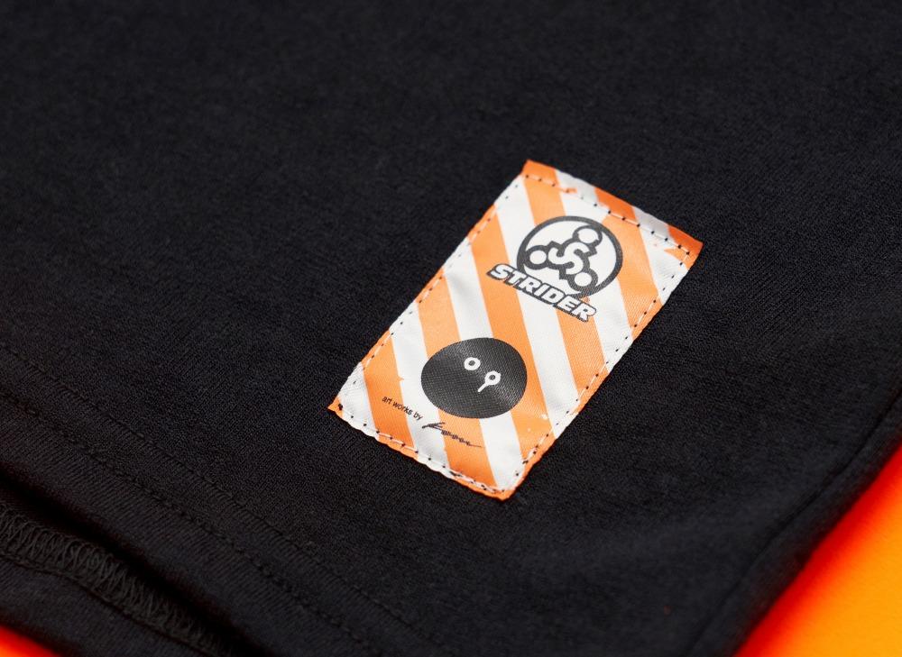 ストライダー×神山隆二 RATFACEモデル BRING キッズT-shirt(ブラック)