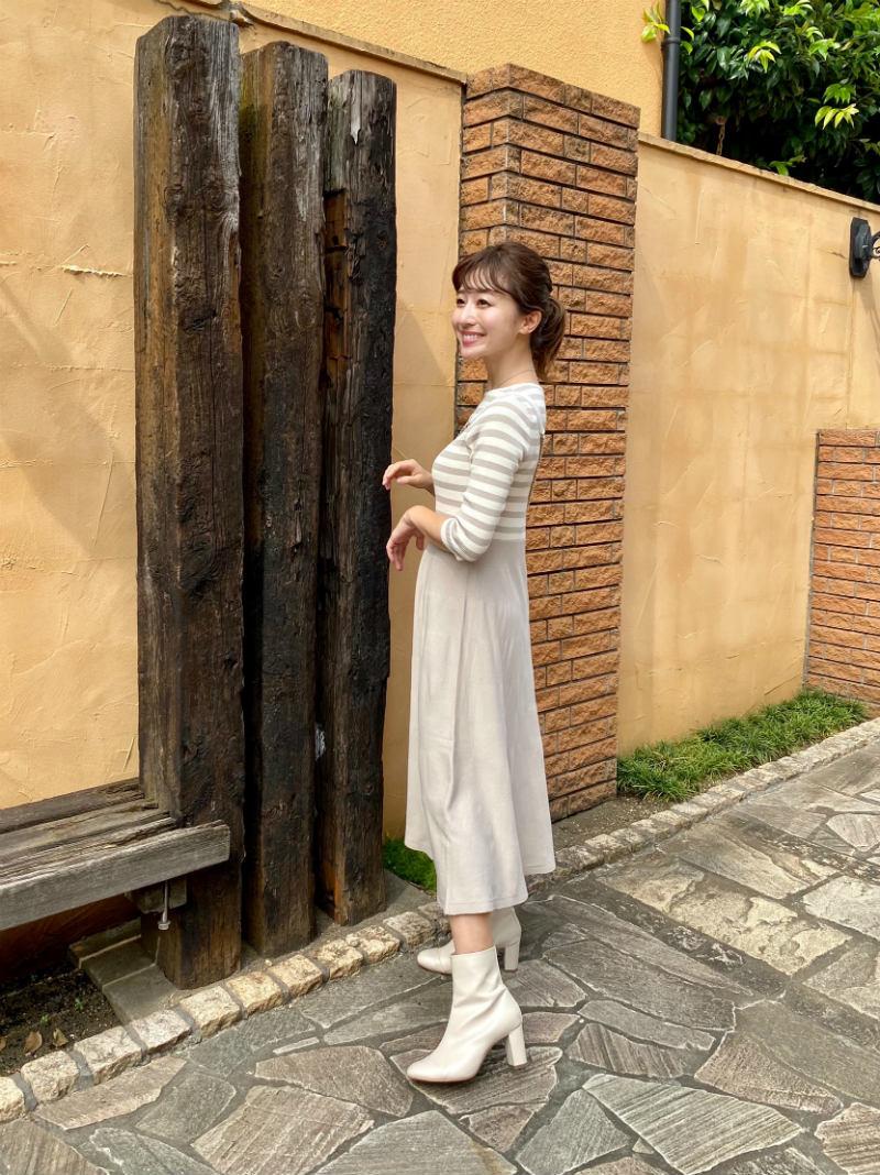 ST.ROONEY /水野佐彩さんコラボ コンビネーションニットワンピース