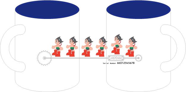 ATOM マグカップ(A)