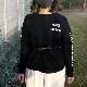 LUCK JACK × 神戸大学レイバンズ コラボ  コットンロングTシャツ