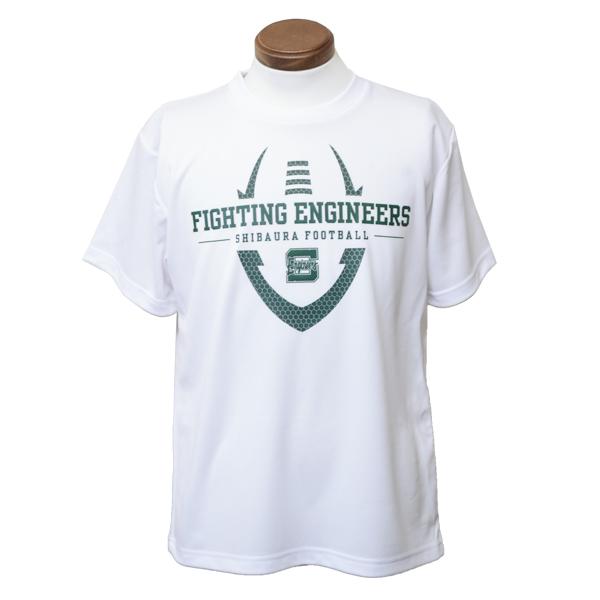 芝浦工業大学ファイティング エンジニアーズ ドライTシャツ ※オプションサービス
