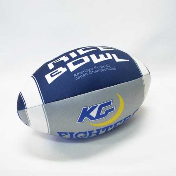 関西学院大学ファイターズ 74th ライスボウル クッションボール(大)