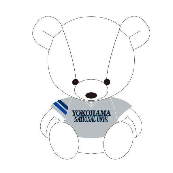 横浜国立大学硬式野球部 ミニベアストラップ
