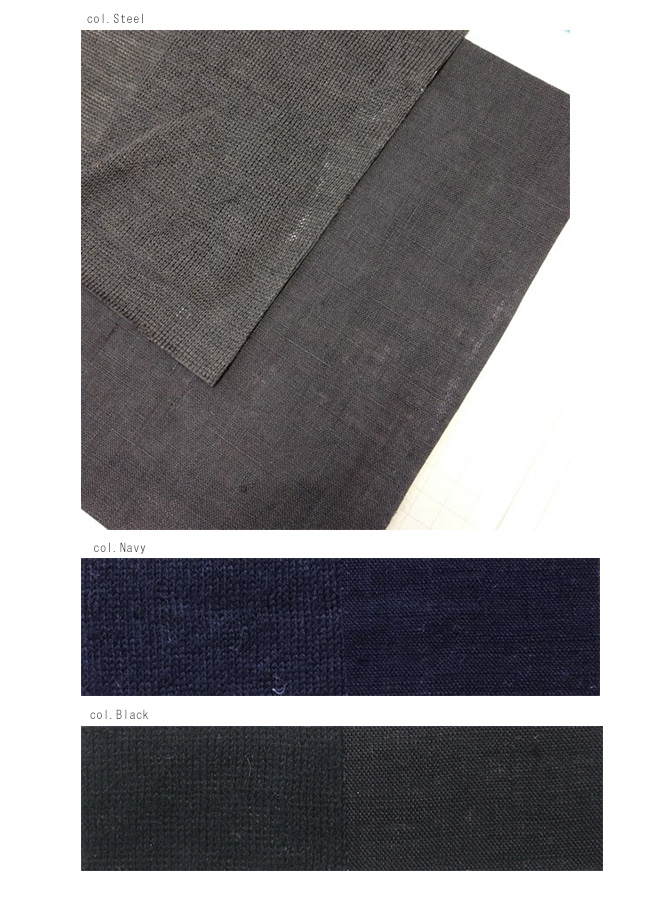【サイズ「2」】  「Gling Glo(グリン・グロー)」 ベルギーリネン布帛 サルエルパンツ [Belgian linen fabric saruel pants, size 2]