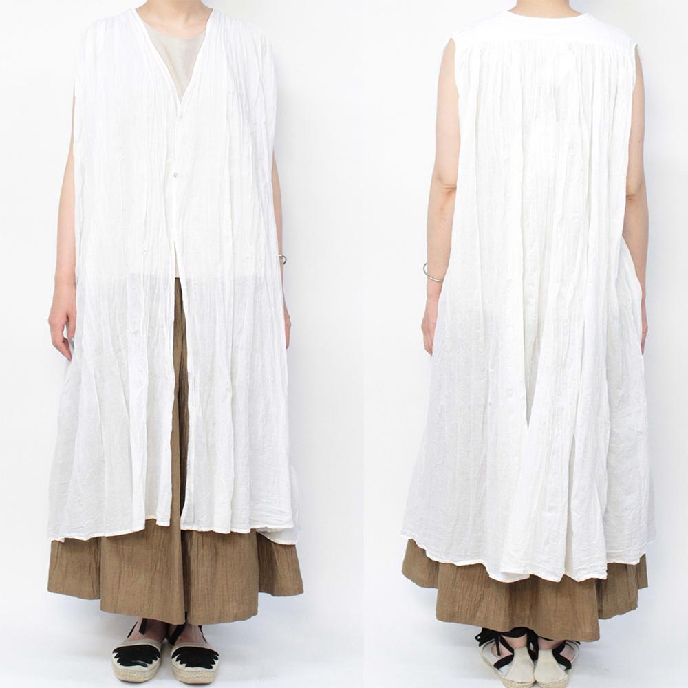 YARRA(ヤラ) カディコットン ロングジレ