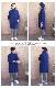 ヤク100%手芸糸『Meili(メイリ)アラン柄ポケット付きチュニック』編み図と糸のキット