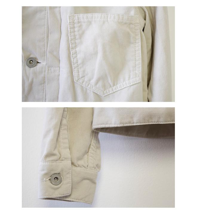 Brocante(ブロカント ブロカンテ) D.M.G ドミンゴ DMG  21Wコール(コーデュロイ) ドゥジェームジャケット 38-137H [T21W-cor (Corduroy) Deuxieme jacket]