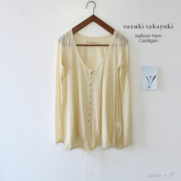 suzuki takayuki(スズキタカユキ)<br>バルーンカーディガン「balloon cardigan」