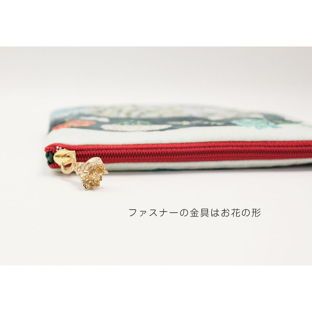 SAKURAYAMA  ドローイングポーチ (花輪/むらどり)