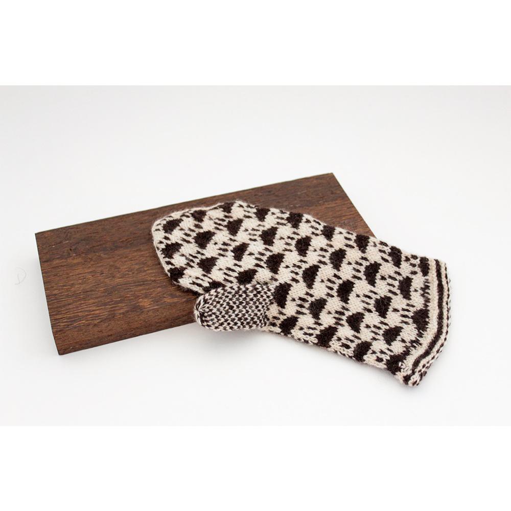 ◆糸と編み図のセット◆ベビーウール×ヤク×カシミア混手芸糸『Light Meili(ライトメイリ)猫たちミトン』編み図と糸のキット