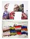 アルパカウール手芸糸 1/2番手 段染め風 ロービング撚糸 「Baby Merino Flame(ベビーメリノフレーム)」200g小巻