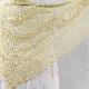 """◆編み図と糸◆ベルギーリネン・メランジ手芸糸  『ベルギーリネン・メランジ「SHINY(シャイニー)」使用 """"木もれ日ショール""""』編み図と糸のキット"""