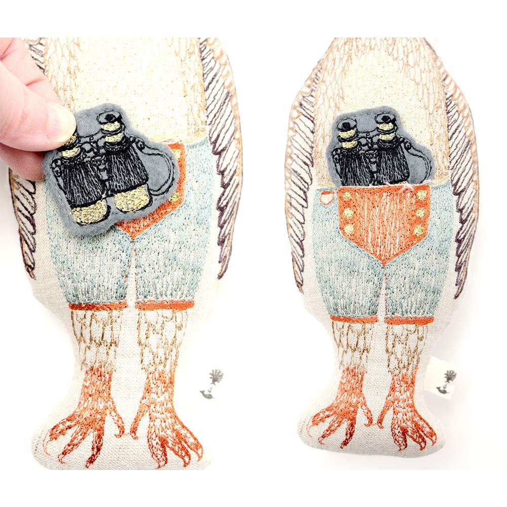 CORAL&TUSK(コーラル・アンド・タスク) 刺繍ポケットドール   縫いぐるみ