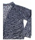 ◆編み図のみ◆ベルギーリネン・メランジ手芸糸 「SHINY(シャイニー)」使用『シャイニーラグランカーディガン』編み図 【単品送料170円】