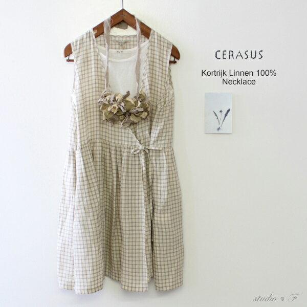 CERASUS(ケラスス)<br>アンティークストライプネックレス