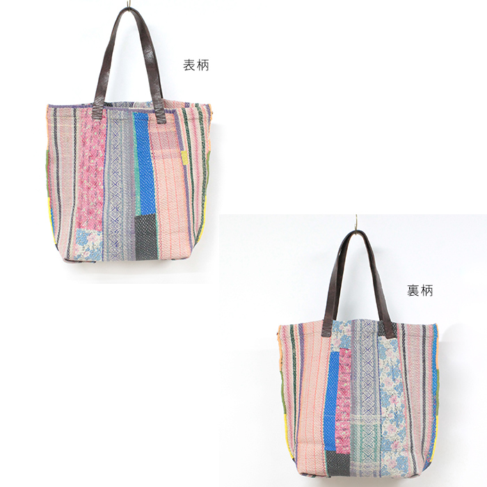 yantra bunaiカンタ刺繍 TOTO BAG(トートバッグサイズ:M) [Kangta embroidered TOTO BAG]