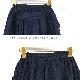 doux bleu (ドゥーブルー) ワッシャーリネンギャザースカート